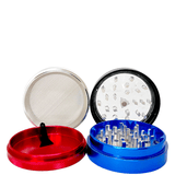 GRINDER CLEARTOP ALUMINIUM 55mm 4-PIECE