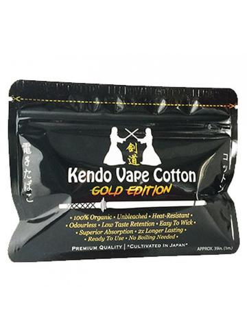 Kendo Vape Cotton - Gold Edition - Mister Vapor