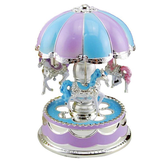 LIT CAROUSEL  Music Box  6 Current Gift for Baby Girls🎁 – LIT Gift Box ad3f91ce4193