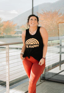 Be Happy Tank (2 color options)
