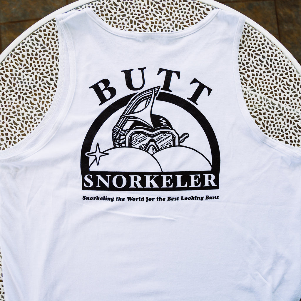 White BS Logo TANK