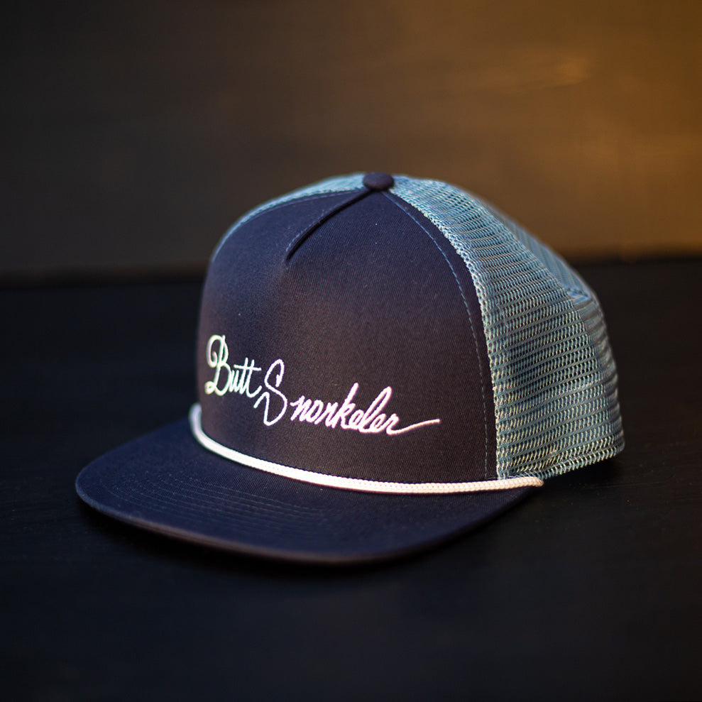 Signature Snapback - Blue Steel