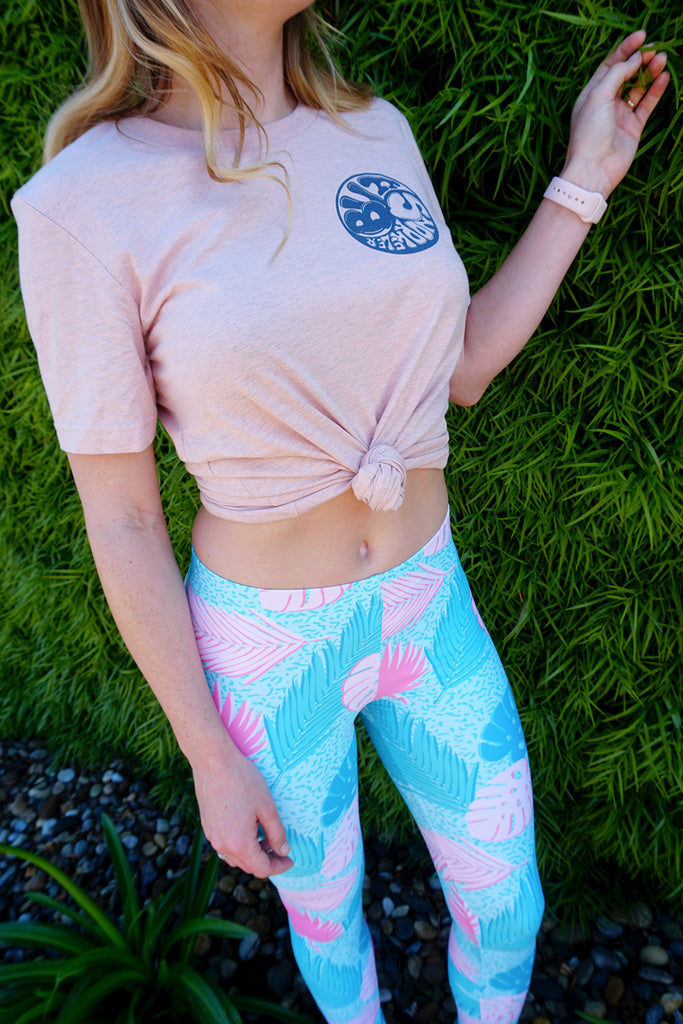 Miami Vice on Molly Leggings