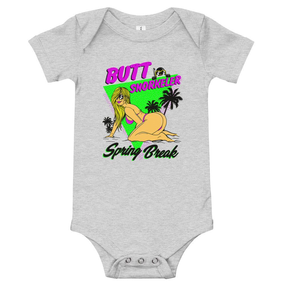 Baby short-sleeve Onezie - Spring Break