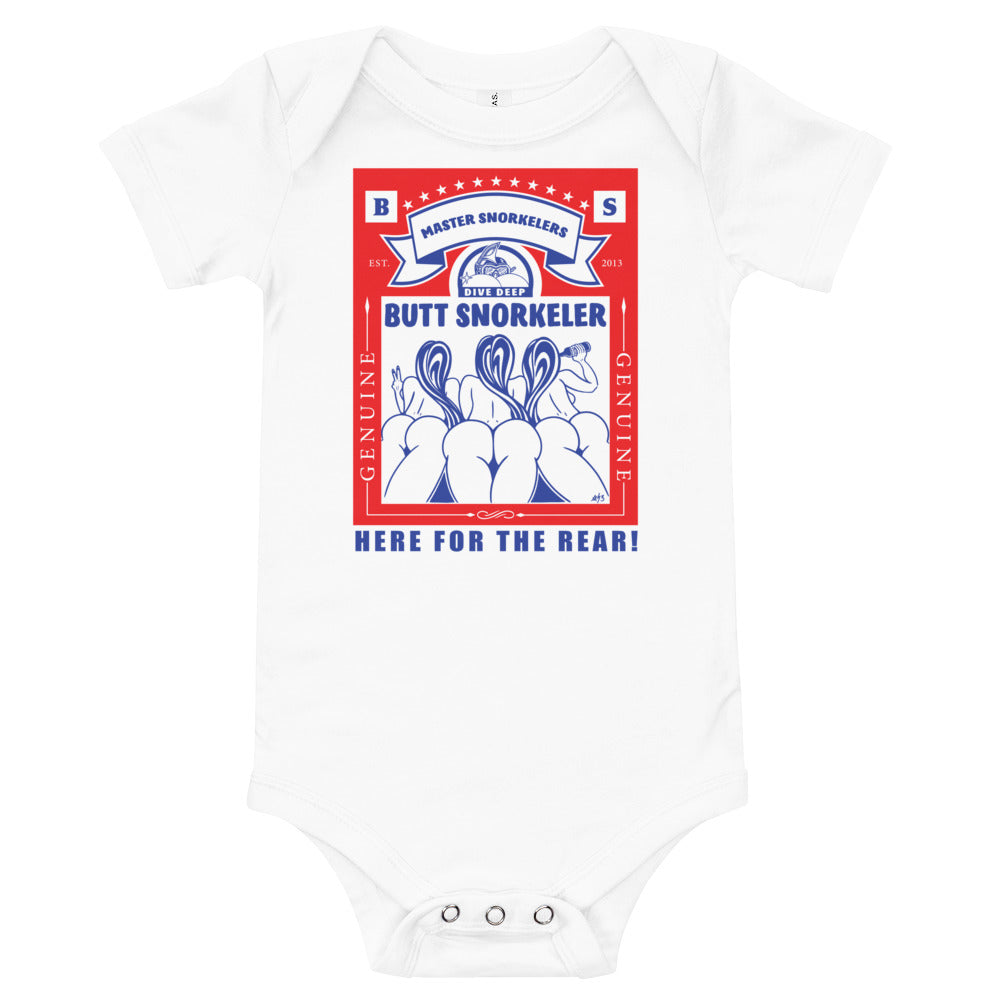 Baby short-sleeve Onezie - King of Rears