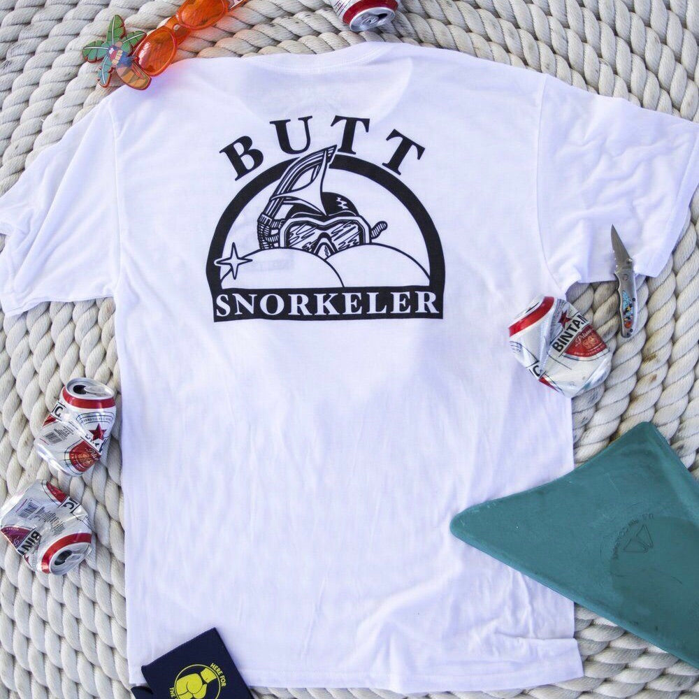 BS Logo Tee - Basic White