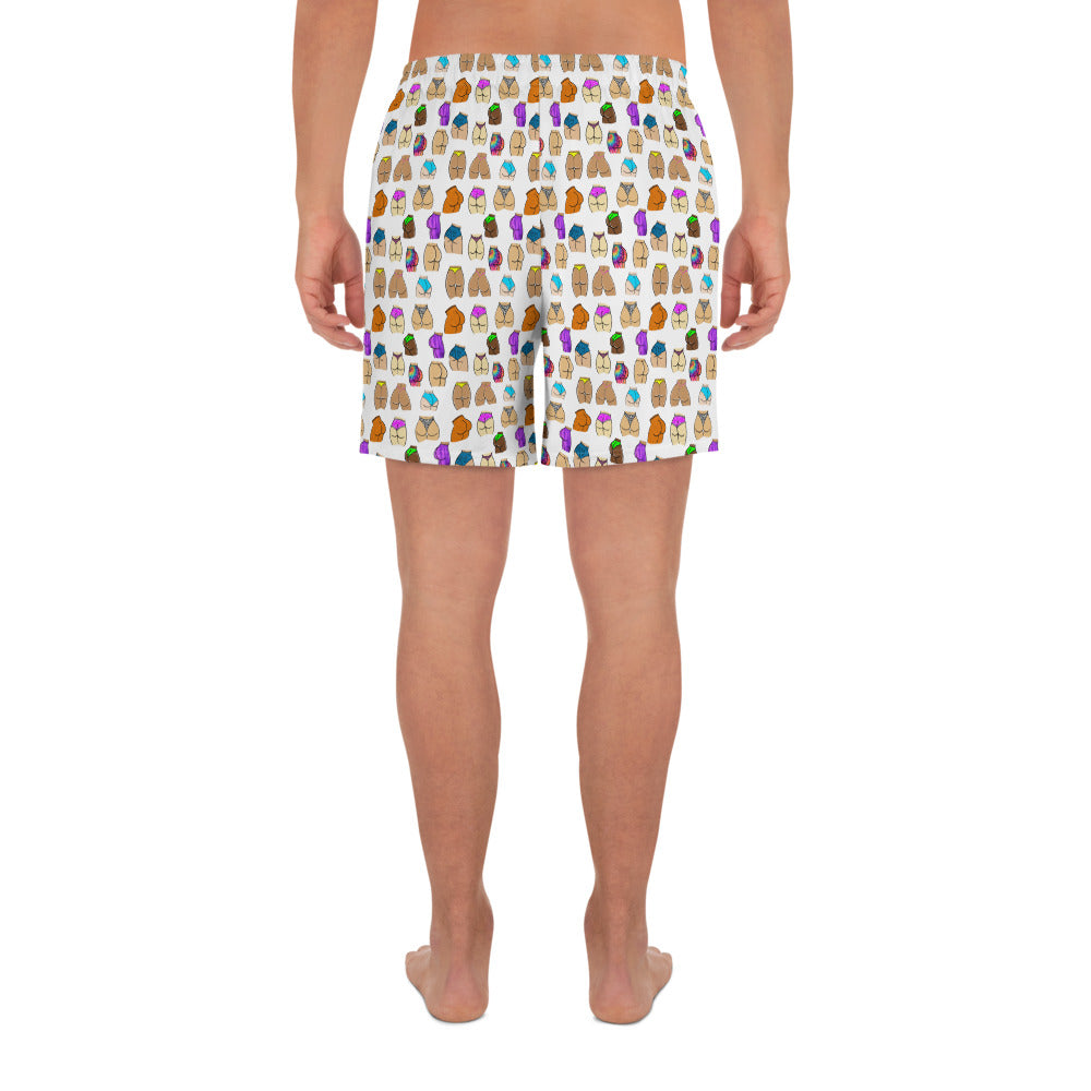 Rumps Around the World - Party Shorts - White