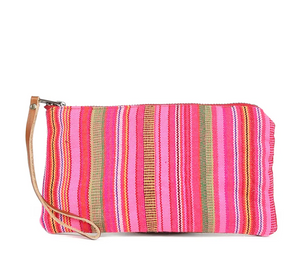 Clara Clutch Thai Stripe