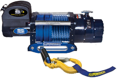 Superwinch Talon 14 with synthetic rope perfect for worksite or heavy duty off road use