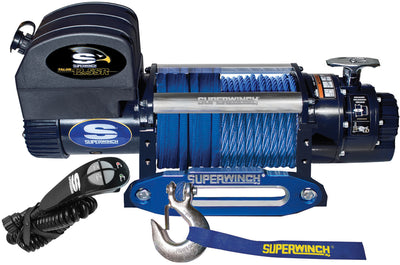 superwinch winch-talon 12.5 sr 12v, 1612201 synthetic rope