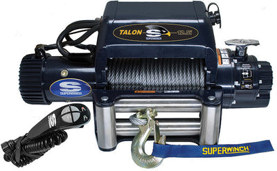 integrated superwinch talon 12.5i is a perfect fit for electric winch with synthetic