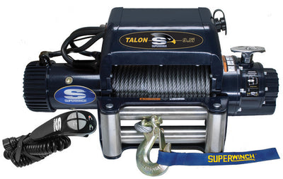 integrated superwinch talon 9.5 integrated is a perfect fit for electric winch with synthetic for jeep, land rover, toyota