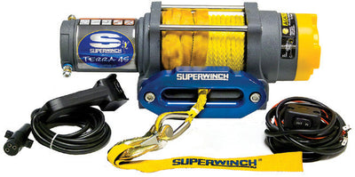 Superwinch Terra 45 with Synthetic rope is good and trustworthy electric winch
