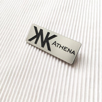 Metallic  Name Tag