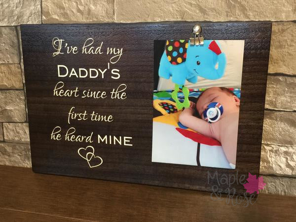 Daddy Picture Sign