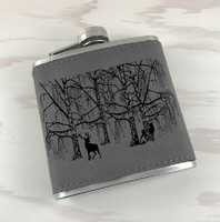 Deer Forest 6 oz. Flask