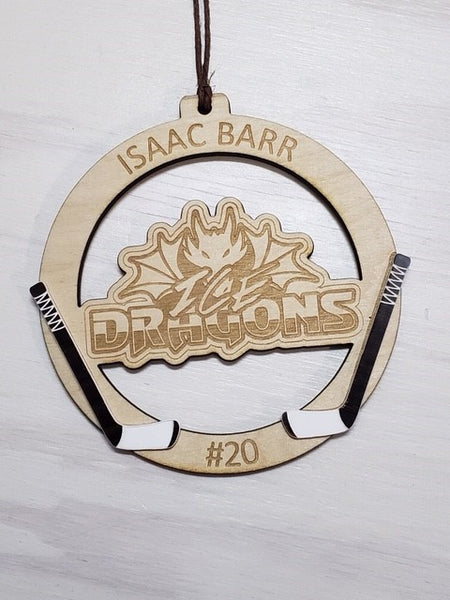 Hockey Logo Ornament