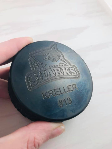 Engraved Puck