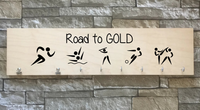 Road To Gold - Medal Hanger