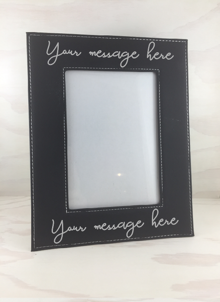 Handwriting picture frame