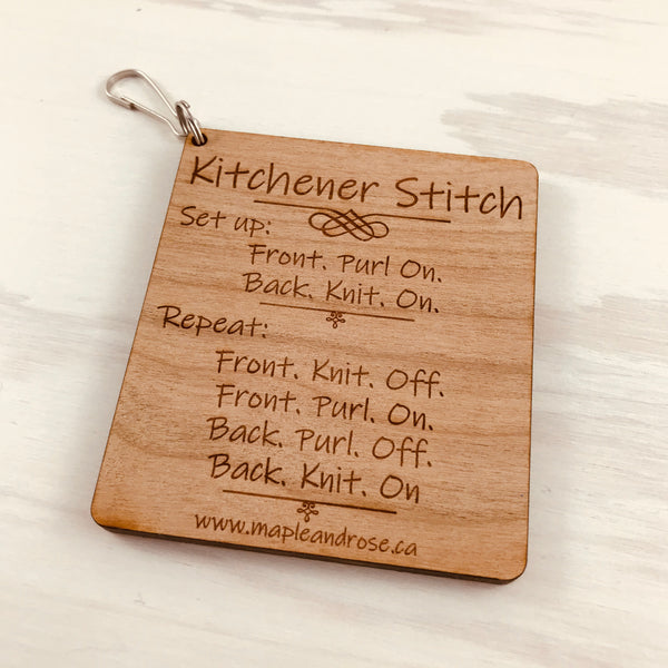 Kitchener Stitch Guide