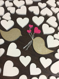 Wedding Hearts - Love Birds