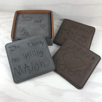 Handwriting Coasters