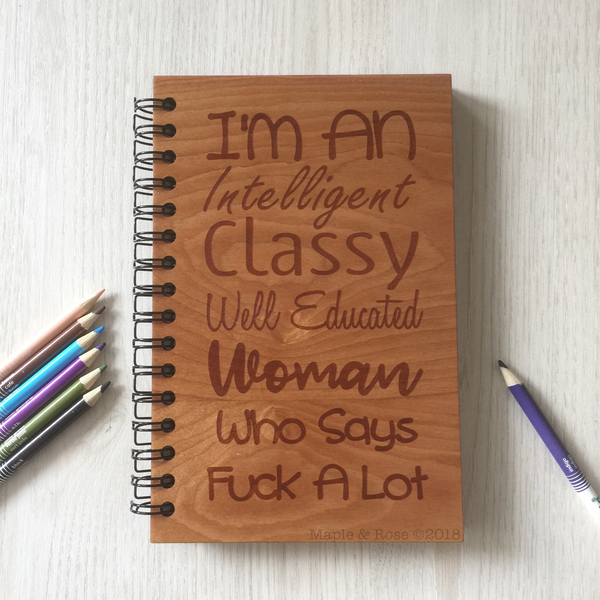 Independent Woman Notebook