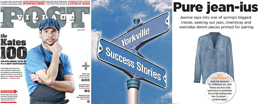 IN THE PRESS | OTR x Village Post x Yorkville Success Stories 2015