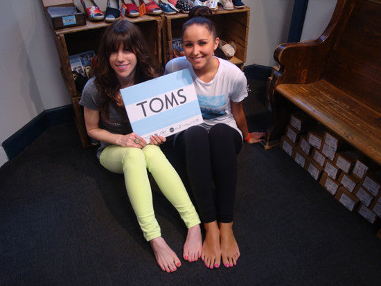 EVENT RECAP | OTR X TOMS One Day Without Shoes