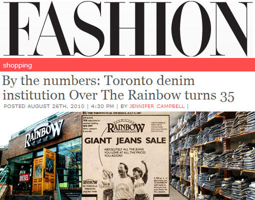 IN THE PRESS | OTR x FASHION Magazine x 35th Anniversary Coverage