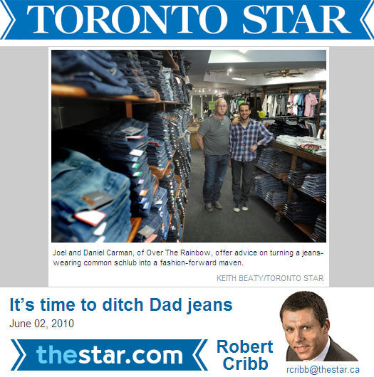 IN THE PRESS | OTR x Toronto Star x Menswear Makeover 2010