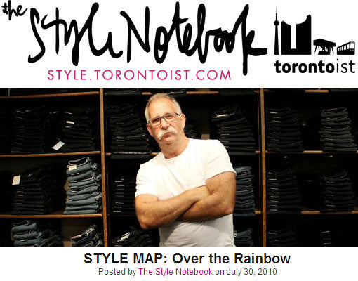 IN THE PRESS | OTR x The Style Notebook x Joel Carman Interview 2010