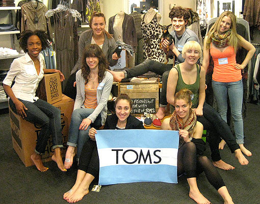 EVENT RECAP | OTR x TOMS Shoes One Day Without Shoes