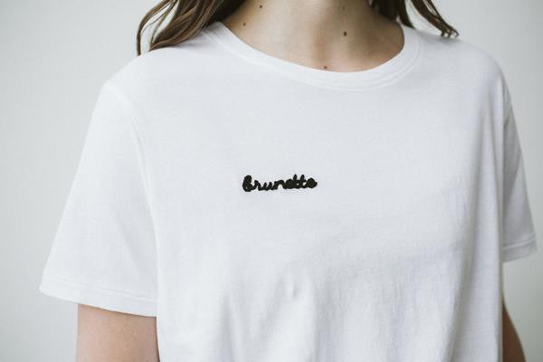 Brunette the Label Chainstitch Tee
