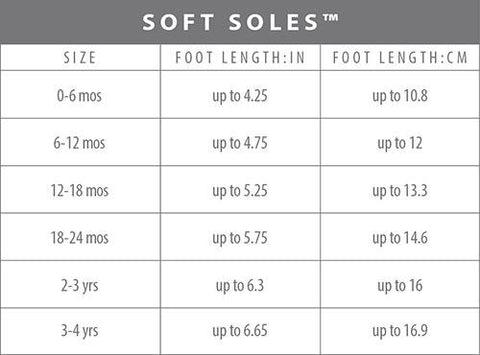 fit guide roobeez kid booties