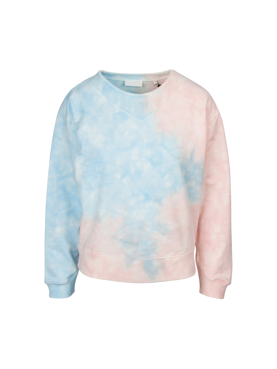 Tie Dye Crew Sweatshirt-Seven for all Mankind-Over the Rainbow