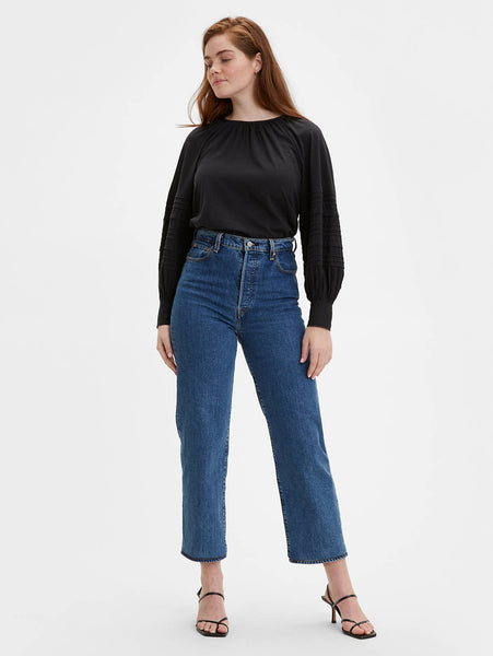 Ribcage Straight Ankle Jean - Georgie-Levi's-Over the Rainbow
