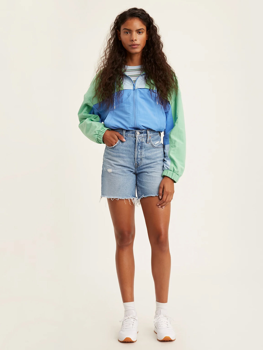 501® Mid Thigh Shorts - Luxor Street-Levi's-Over the Rainbow