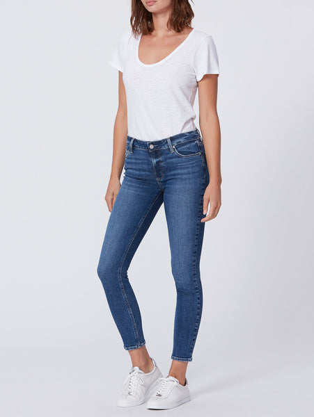 Verdugo Mid Rise Ankle Skinny Jean - Blaine-Paige-Over the Rainbow