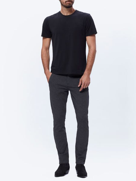Stafford Slim Pant - Iced Black-Paige-Over the Rainbow