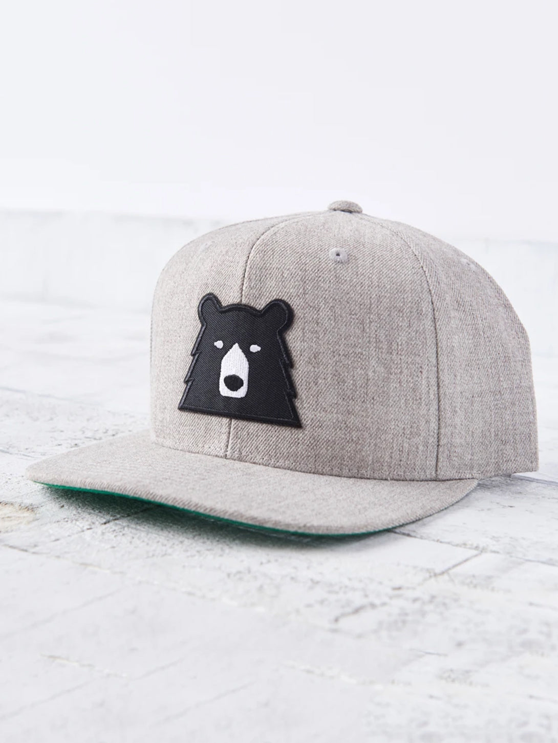 Snapback Bear Hat - Heather/Black-North Standard Trading Post-Over the Rainbow