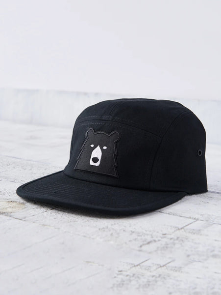 5 Panel Bear Hat - Black-North Standard Trading Post-Over the Rainbow
