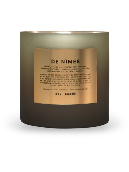 De Nimes Magnum Candle-BOY SMELLS-Over the Rainbow