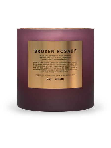 Broken Rosary Magnum Candle-BOY SMELLS-Over the Rainbow