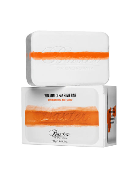 Vitamin Cleansing Bar - Citrus and Herbal Musk-BAXTER OF CALIFORNIA-Over the Rainbow