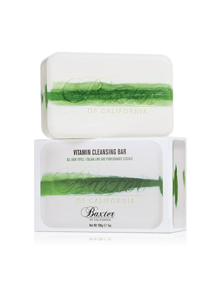 Vitamin Cleansing Bar - Italian Lime and Pomegranate-BAXTER OF CALIFORNIA-Over the Rainbow