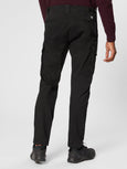 Raso Sateen Stretch Cargo Pant - Black-CP COMPANY-Over the Rainbow