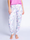 Marble Vibes Banded Pant-PJ Salvage-Over the Rainbow