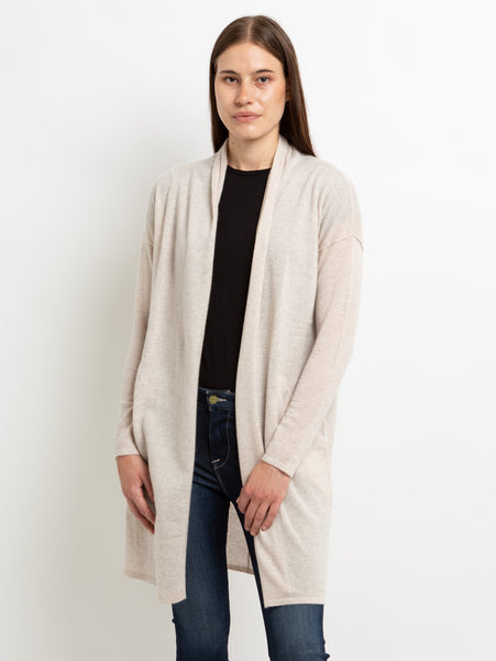 Open Duster Cardigan with Pockets-AUTUMN CASHMERE-Over the Rainbow